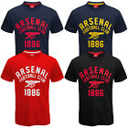 Arsenal FC Official Football Gift Mens Graphic T-Shirt