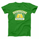 Shenanigans Bar And Grill Funny  Cop  Super  Humor  Troopers Green Men's T-Shirt