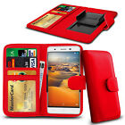 Clip On PU Leather Flip Wallet Book Case Cover For Cubot X12