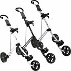 CLEARANCE! 43% OFF RRP 2016 GreenWay 3 Wheel Mens Push/Pull Golf Trolley