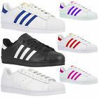 ADIDAS ORIGINALS SUPERSTAR FOUNDATION CASUAL SHOES KIDS WOMANS LADIES TRAINERS