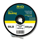 RIO Color Change Red To Yellow Gel Spun Backing Fly Fishing Line 50Lb