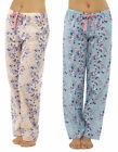 Ladies TOM FRANKS cool cotton floral lounge pants style LN373