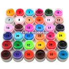 Single UV Nail Polish Gel Decor DIY Nail Art Tips Manicure Decoration Pure Color