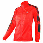 adidas women's running  jacket M- L Red Jackets RSP G76654 uk 14 -16,