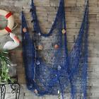 Outdoor Nautical Fishing Net Seaside Home Wall Beach Party Sea Shell Decor HOT