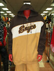 Men's Enyce Full Zip Hoodie Wheat/Brown 80% Cotton 20% Polyester