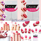 Mixed Chic DIY 18 Style French Manicure Nail Art Tips Tape Sticker Guide Stencil