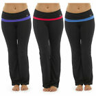 Womens Yoga Exercise Pants Ladies Gym Fitness Sportswear Trousers