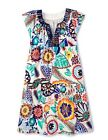 Boden Women's Brand New Breezy Emma Dress Multi Tropical Floral Print Cotton