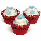 Mason Cash Heart Cupcake Wraps Wedding Cake Muffin Wrappers Decoration Cases