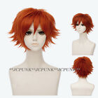 Zootopia Nick Wilde personification Cosplay Wig / Fox Ears / Badge