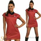 Adult Ladies Deluxe Uhura Star Trek Fancy Dress Costume Uniform Adult Outfit on eBay