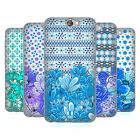 HEAD CASE DESIGNS FLORAL BLUE SOFT GEL CASE FOR HTC ONE A9