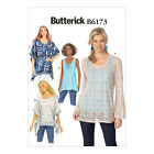 NEW | Butterick Sewing Pattern | B6173 | Misses' Tunic and Top | FREE SHIPPING