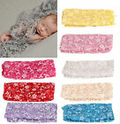 Внешний вид - Newborn Baby Girl Lace Wrap Blanket Gauze Kerchief Costume Photography Props New