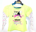 Halloween Green Tshirt I've Got Daddy Under My Spell 18M 3T 4T NWT