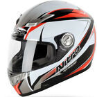 Nitro Kenshi Fibreglass Full Face Sharp 5 Star Motorbike Motorcycle Helmet ACU