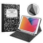 Slim PU Leather Case Cover With Bluetooth Keyboard For Apple iPad Pro 9.7 / 10.5
