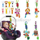 Toddler Newborn Pram Stroller Rattle Hanging Bell Baby Kid Soft Plush Animal Toy