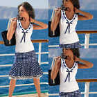 Womens Girls Casual Costume Shirt Sleeveless Tank Top V Neck Slim Shirt Tee Vest