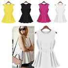 Fashion Women Vest Top Casual Sleeveless Blouse Tank Tops T-Shirt Summer Blouse