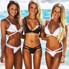 Women Swimwear Bathing Suit Swimsuit Monokini Sexy Push Up Padded Bikini Set
