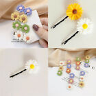 Cute Sunflower Hair Clips Women Korean Style Flowers Hairpin