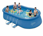 Summer Escapes Quick Up Oval Pool 457 x 274 x 110cm Swimmingpool Filterpumpe opt