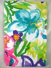 Assorted Sizes Bright Colors Abstract Tropical Floral Vinyl Tablecloth FREE SHIP