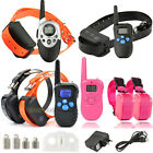 Electric Waterproof Remote Pet Safe Dog Shock Training Collar E-Collar 1-2 Dogs
