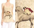 Unicorn Riding Pug Dog Meme Funny Graphic Racer Back Tank Top 236 mv Shirt S M L