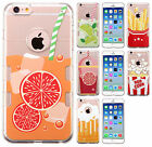 For Apple iPhone 6 / 6s TPU Gel GUMMY Hard Skin Case Phone Cover + Screen Guard