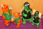NEW Latex SQUEAKY Dog Toy - T-REX  or GATOR Dinosaur 14cm or 24cm