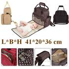 Diaper Bag by Hip Cub Plus Matching Baby Changing Pad Multifunctional Mommy Bag