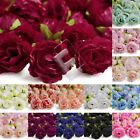50pcs 40mm Small Sakura Artificial Flower Heads Wedding Fake Bridal Decoration