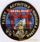 FLEET ACTIVITIES US NAVAL BASE YOKOSUKA PATCH US NAVY VETERAN USS PIN UP JAPAN