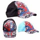 K145 BOYS DISNEY MARVEL SPIDERMAN SUPERHERO RETRO COMIC BASEBALL CAP HAT SUN HAT