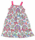 Lilybird Infant Girls White & Multi Color Butterfly Dress Size 12M 18M $36