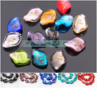 5~20pcs 20x17mm Charms Lampwrok Glass Loose Spacer Beads Jewelry Findings