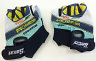 Team Vacansoleil Bianchi Cycling Gloves - Made in Italy by Santini