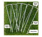 6'' U Pins Garden Pegs for securing weed fabric netting ground sheets turf metal