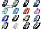 Select Band With Silver Metal Ornament Cover For Fitbit Flex Wristband & Clasp