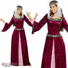 FANCY DRESS COSTUME # LADIES ROBIN HOOD MEDIEVAL MAID MARION SIZE 8-26