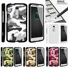 For Droid Turbo 2| X-Force| Slim Fit Hard 2 Piece Case Colored Camouflage