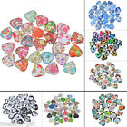 10x Glass Mix 20mm Heart Dome Cameo Cabochon for Jewellery&Model Making