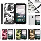 For LG Stylus 2| Stylo 2| Slim Fit Hard 2 Piece Case Colored Camouflage