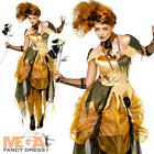Witchy Belle Halloween Fancy Dress Fairytale Beauty Adults Ladies Costume Outfit