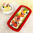 Silicone Rectangle Non Stick Bread Loaf Cake Bakeware Baking Pan Oven Mould STGG