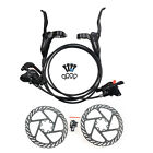 Shimano BR-BL-M315 MTB Hydraulic Disc Brakes Set Pre-Filled with 160mm Rotor <br/> Left for Rear,Right for Front. RT56/HS1/G2/G3 rotors